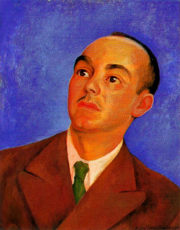 Portrait of Carlos Pellicer, 1942