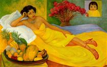Portrait of Sra. Dona Elena Flores de Carrillo - Diego Rivera