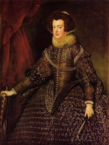 Queen Isabella of Spain wife of Philip IV  sc 1 st  WikiArt & Queen Isabella of Spain wife of Philip IV 1632 - Diego Velazquez ...