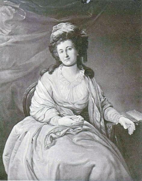 Elena Kurakina, nee. Apraksina, c.1765 - Dmitry Levitzky