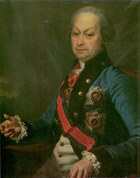 Melgunov, Alexei Petrovich, Governor-General Yaroslavl and Vologda, c.1795 - Dmitry Levitzky