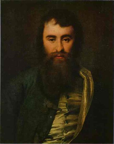 Portrait of A. I. Borisov, 1788 - Dmitry Levitzky