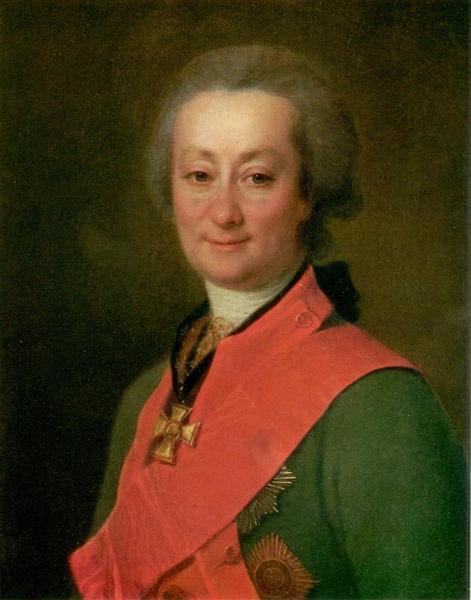 Portrait of Fedor Orlov, 1785 - Dmitry Levitzky