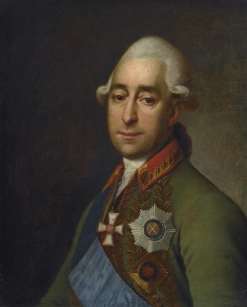 Portrait of Prince Alexander Prozorovskiy, 1779 - Dmitry Levitzky
