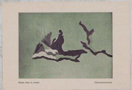 Vision dans le cristal (Surautomatisme), 1945 - Дольфі Трост