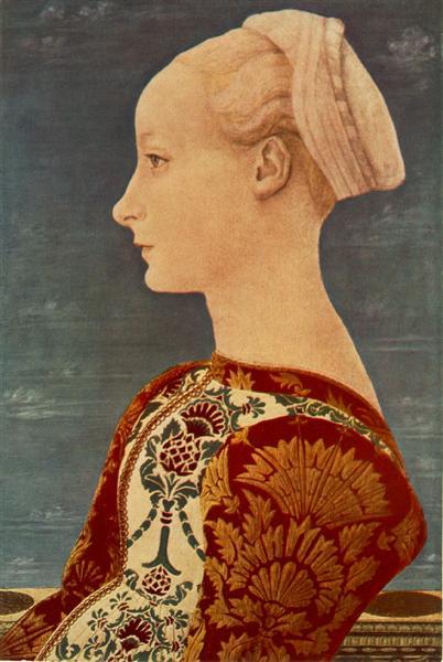 Portrait of a Young Woman - Domenico Veneziano