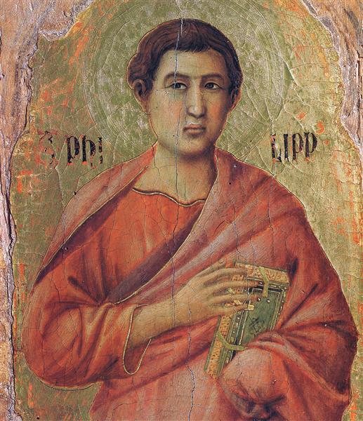 Apostle Philip, 1308 - 1311 - Duccio