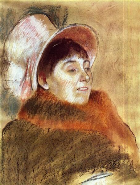 Madame Deitz-Monin, 1879 - Edgar Degas