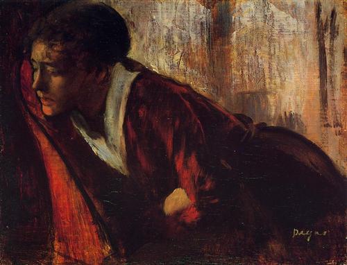 Melancholy - Edgar Degas