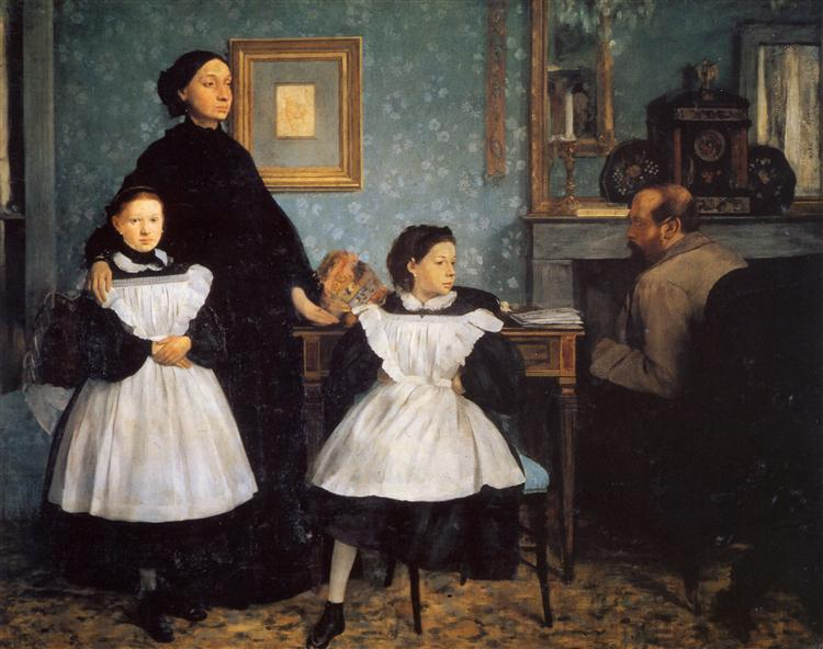 The Belleli Family, 1860 - 1862 - Edgar Degas