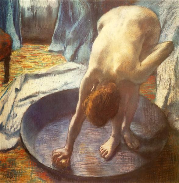 The Tub, 1886 - Edgar Degas