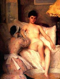 The Bath - Edmund Charles Tarbell