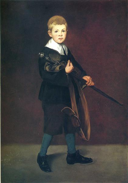 Boy with a sword, 1861 - Edouard Manet