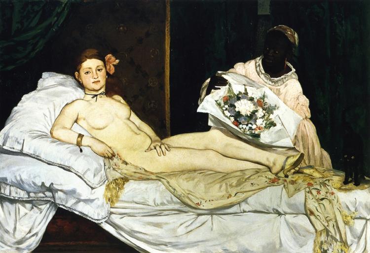 Olympia, 1863 - Édouard Manet