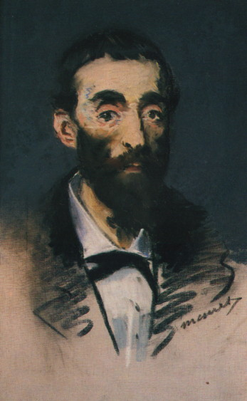 Portrait of Ernest Cabaner, 1880 - Edouard Manet