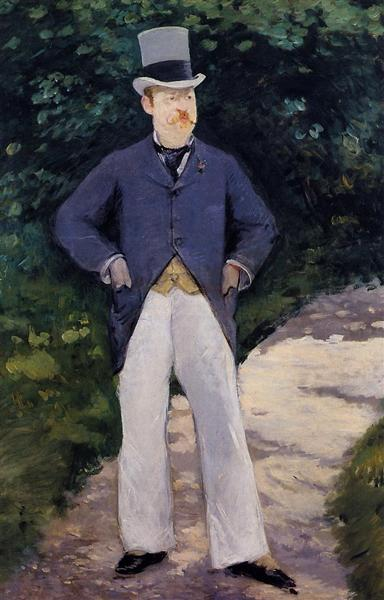 Portrait of Monsieur Brun, 1879 - Édouard Manet