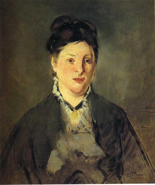 Portrait of Suzanne Manet, 1870 - Edouard Manet