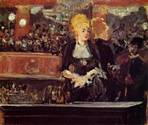 "Studio per ""Bar at the Folies-Bergere"" - Edouard Manet"