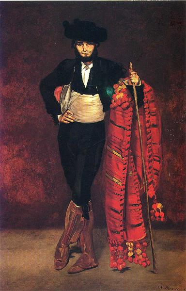 Young man in the costume of a majo, 1863 - Edouard Manet