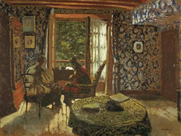 Interior - Edouard Vuillard
