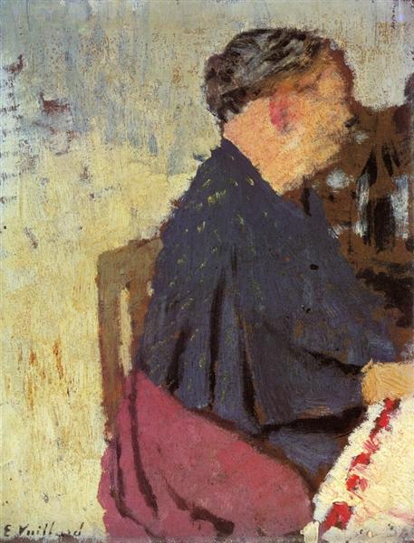 My Mother, 1895 - Едуар Вюйар