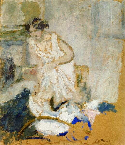 Study of a Woman in a Petticoat, 1902 - 1903 - Edouard Vuillard