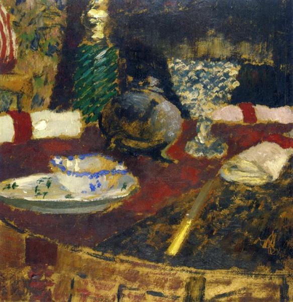 The Sauceboat, 1896 - 1897 - Edouard Vuillard