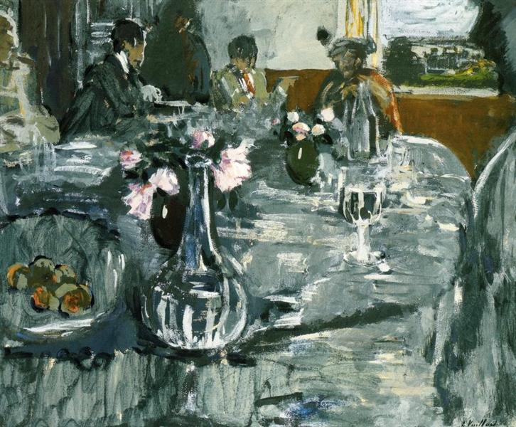 The Table, 1909 - Edouard Vuillard