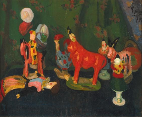 Louça de Barcelos, 1915 - Эдуардо Виана