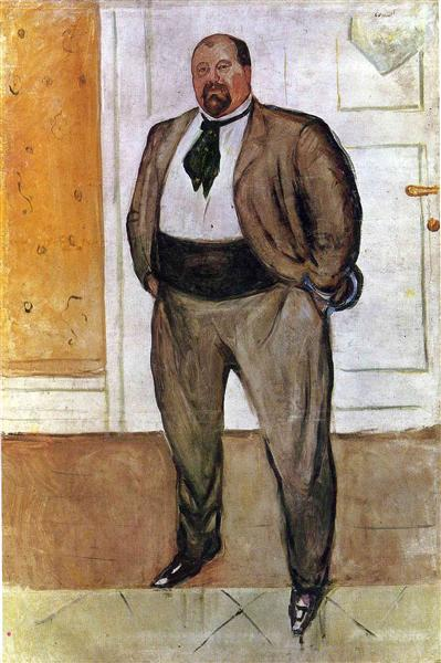Christen Sandberg, 1909 - Edvard Munch