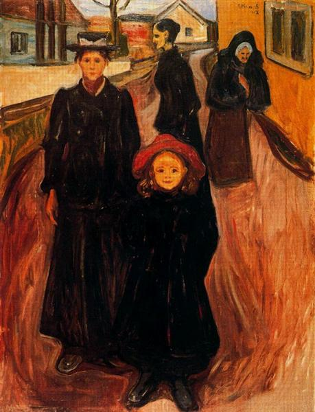 Four Ages in Life, 1902 - Edvard Munch