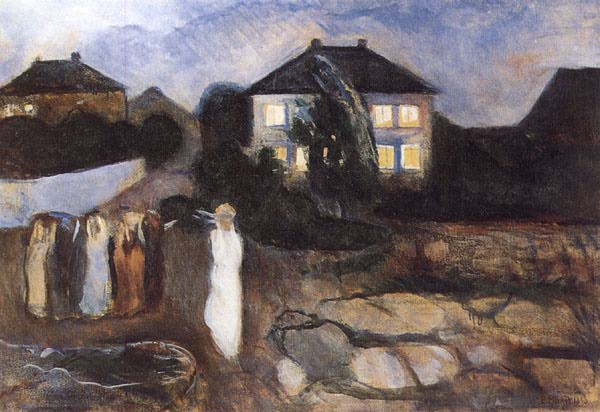 The Storm, 1893 - Edvard Munch
