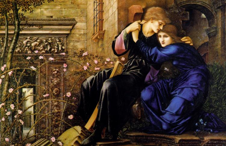 Love Among the Ruins, 1894 - Edward Burne-Jones