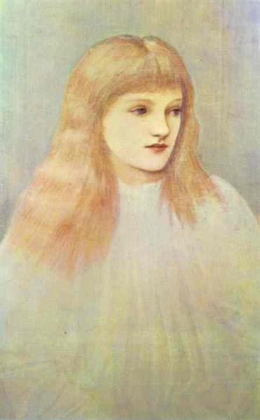 Portrait of Cecily Horner, c.1895 - Edward Burne-Jones