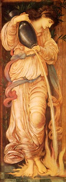Temperantia, 1872 - Edward Burne-Jones