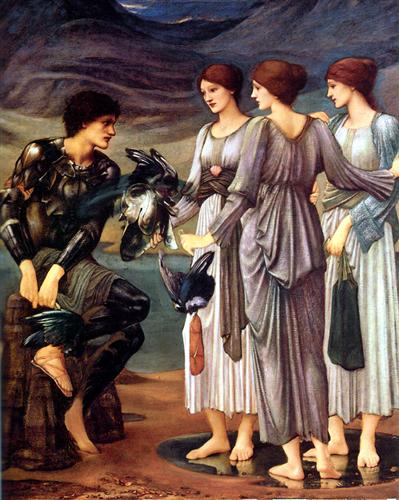 The Arming of Perseus - Edward Burne-Jones