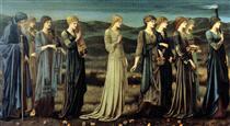The Wedding of Psyche - Edward Burne-Jones