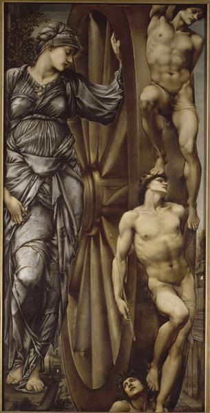 The Wheel of Fortune, 1875 - 1883 - Edward Burne-Jones