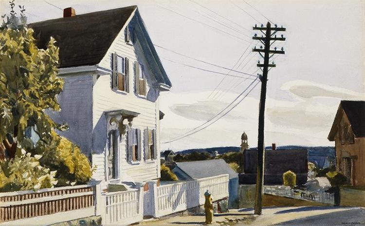 Adam's House, 1928 - Edward Hopper