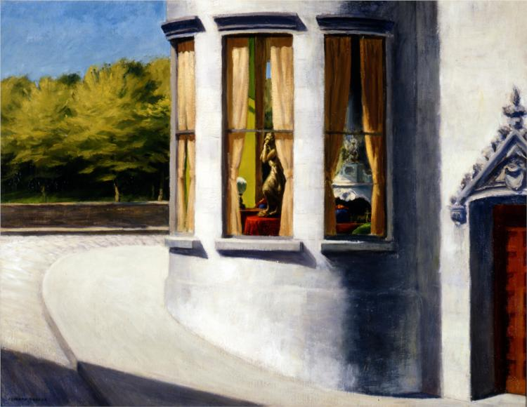 August in the City, 1945 - Edward Hopper