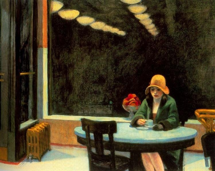 Automat - Edward Hopper