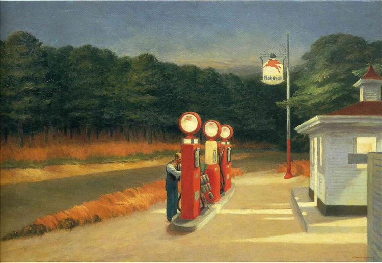 Gas, 1940 - Edward Hopper