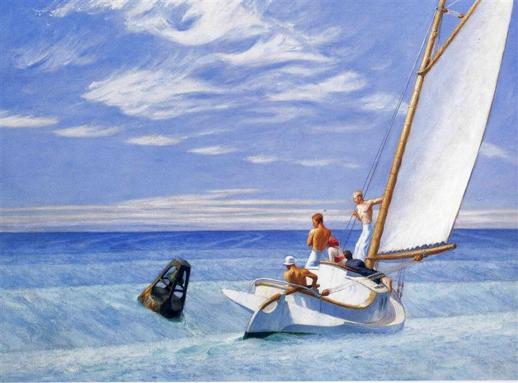 Ground Swell, 1939 - Edward Hopper