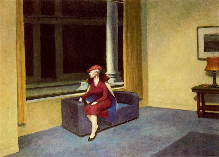 Hotel Window, 1955 - Edward Hopper