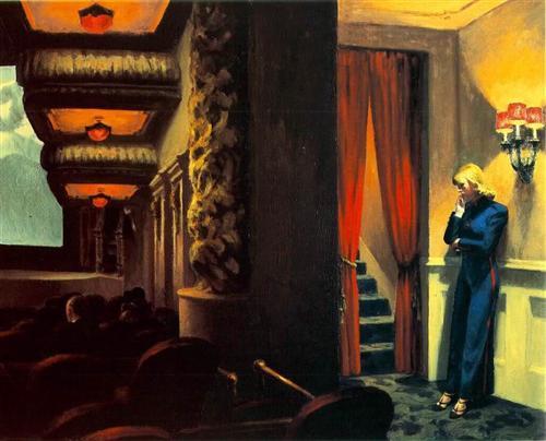 New York Movie - Edward Hopper