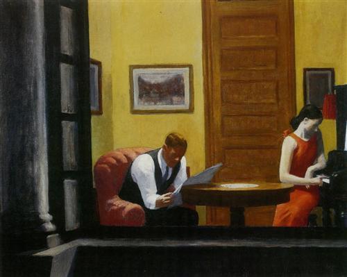 Room in New York - Edward Hopper