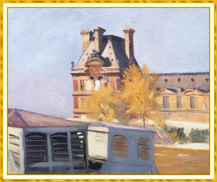 Read Pavillon de Flore, 1909 - Edward Hopper