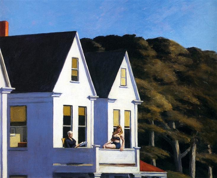 Second Story Sunlight, 1960 - Edward Hopper