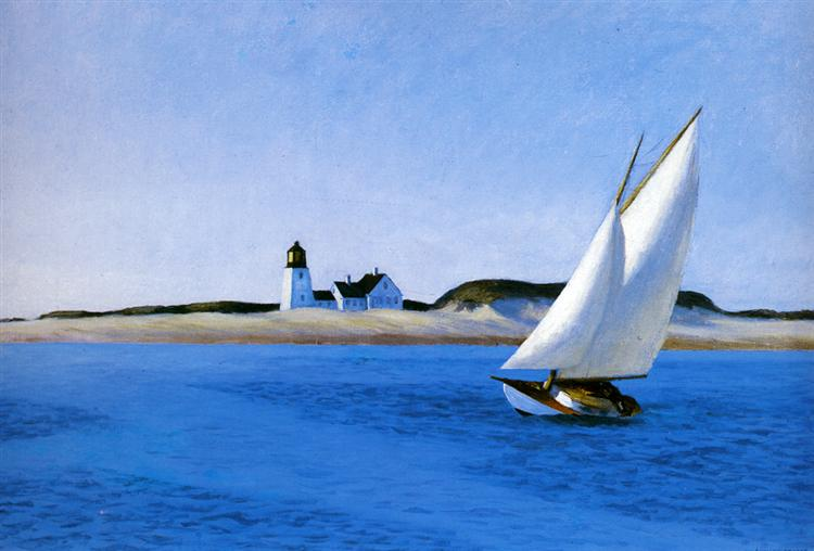 The Long Leg, c.1930 - Edward Hopper