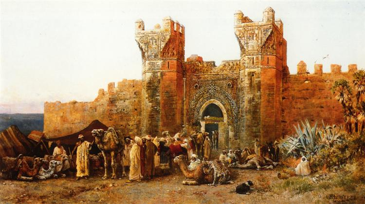 Gate of Shehal, Morocco, 1880 - Edwin Lord Weeks